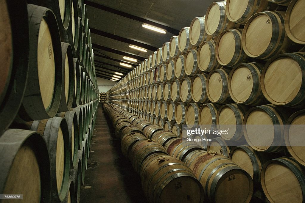New American Oak Wine Barrels Pictures Getty Images