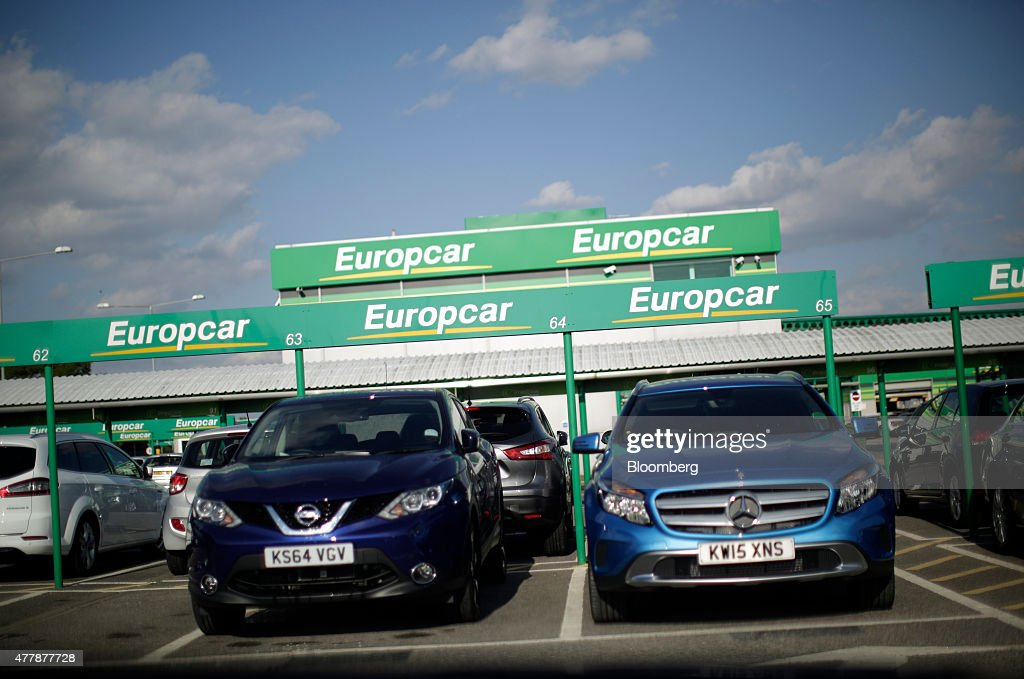 Europcar Hire Sites And Vehicles Ahead Of IPO : News Photo