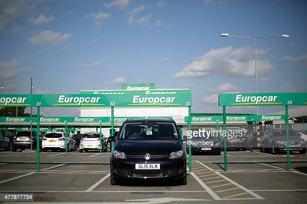 Europe Car: Europcar Hire Sites And Vehicles Ahead Of Ipo Stock Photos
