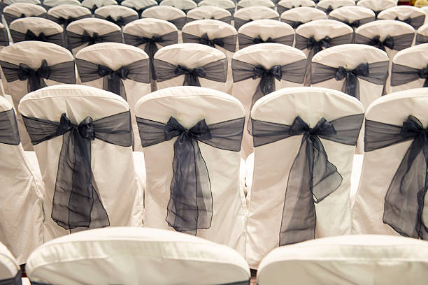 Rows or seats at a ceremony