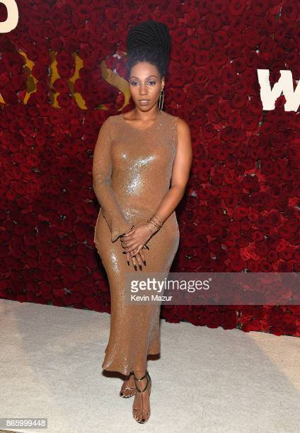 Rox Brown attends 2017 WWD Honors at The Pierre Hotel on October 24 2017 in New York City