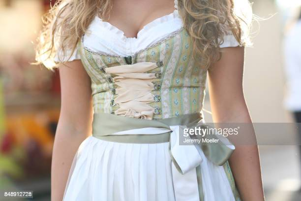 Roxana Strasser at Theresienwiese on September 17 2017 in Munich Germany