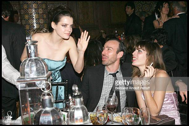Roxane Mesquida Alexis Roche Lou Doillon at Dior Party For Marrakech Movie Festival Jury Members At Soleiman Palace