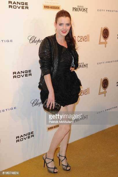 Roxane Mesquida attends ROBERTO CAVALLI 40th Anniversary Event CONTACT SIPA PRESS FOR SALES at Les BeauxArts de Paris on September 29 2010 in Paris...