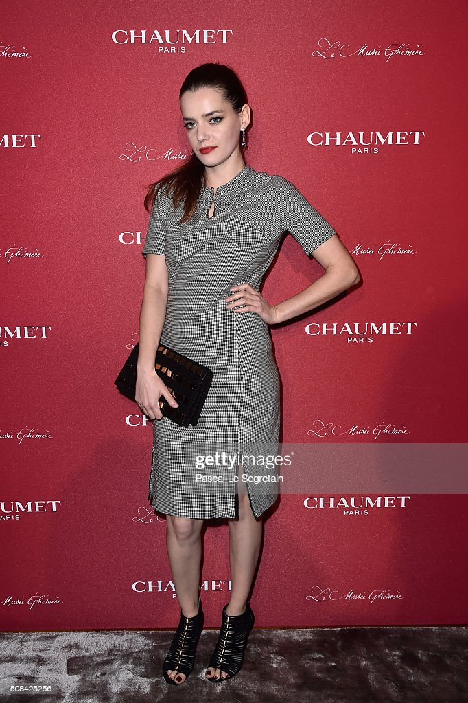 Chaumet Party At Chaumet Ephemeral Museum In Paris