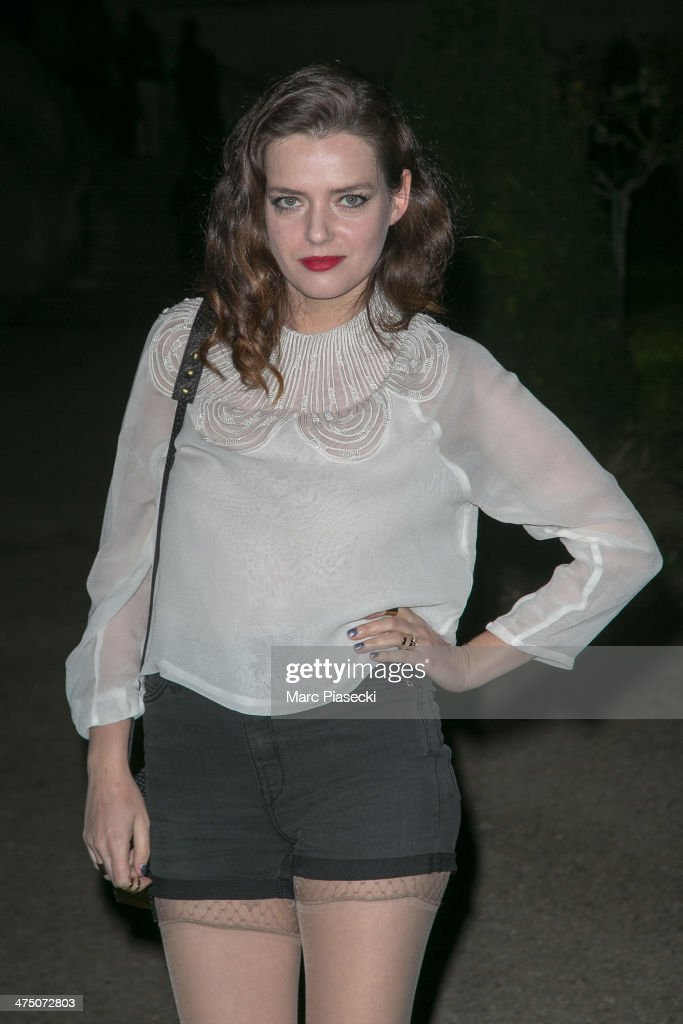 Roxane Mesquida attends the 'H&M Studio AW 2014' as part of the RTW Paris Fashion Week on February 26, 2014 in Paris, France.