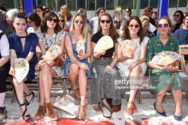 Roxane Mesquida Louise Monot Ludivine Sagnier Marie Ange Casta Anais Demoustier and Alysson Paradis attend the Bonpoint Haute Couture Fall/Winter...