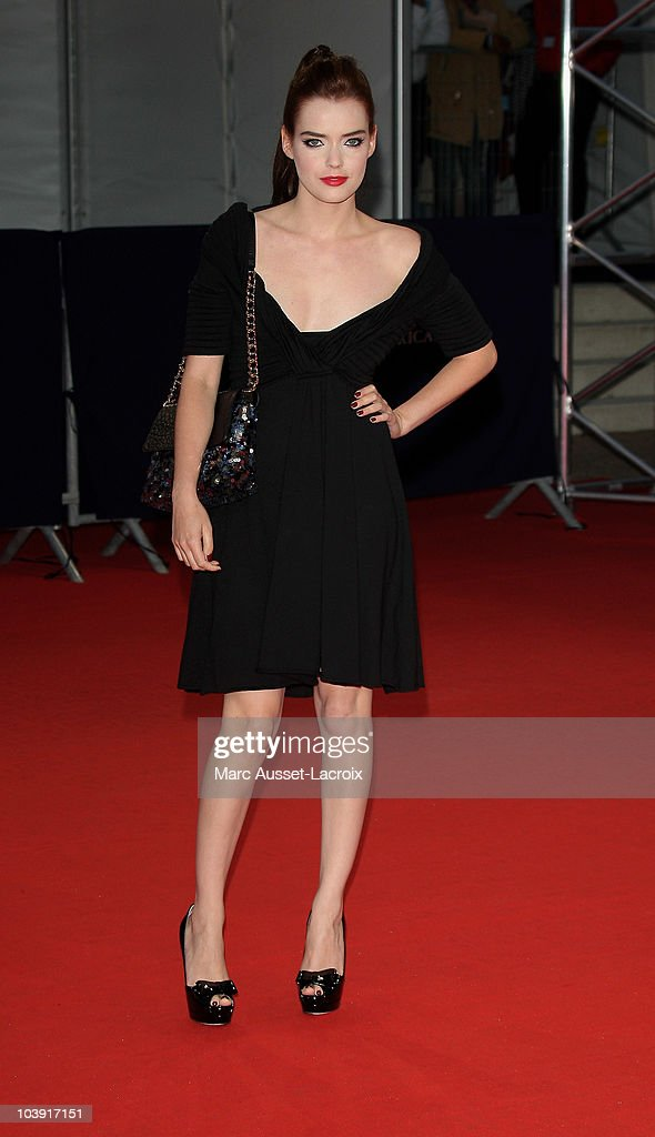 Roxane Mesquida poses for the'Love and Other Impossible Pursuits' Premiere during the 36th Deauville American Film Festival on September 8, 2010 in Deauville, France.
