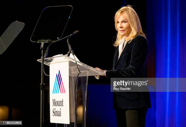 Roxann Taylor speaks onstage during 2019 Mount Sinai Prostate Cancer Research Gala at Cipriani 42nd Street on November 06 2019 in New York City