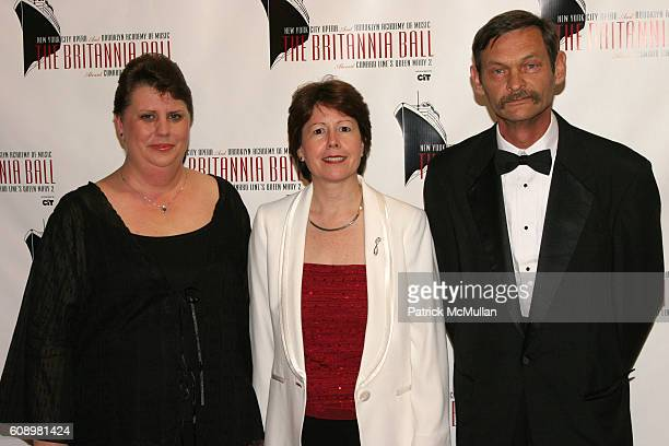 Roxanne Neukam Carol Marlow and Marvin Neukam attend Cunard Line Hosts The BRITANNIA BALL Aboard Queen Mary 2 To Benefit New York City Opera and...