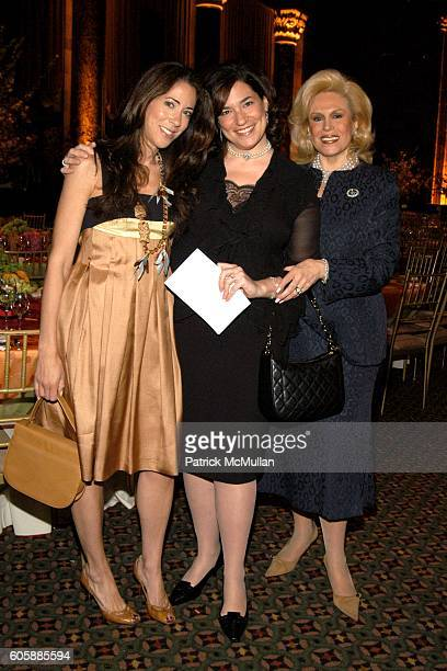 Roxanne Palin Melissa Rosenblum and Harriet Rose Katz attend Food Allergy Spring Luncheon at Cipriani 42nd Street on April 25 2006 in New York City