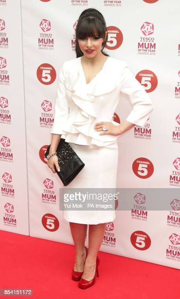 Roxanne Pallett arriving for the Tesco Mum of the Year Awards at The Savoy hotel in central London