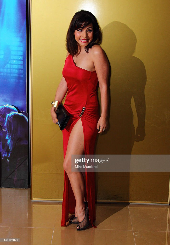 Roxanne Pallett attends the European premiere of 'Magic Mike' at The Mayfair Hotel on July 10, 2012 in London, England.