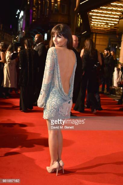 Roxanne Pallett attends the UK Premiere of 'Cake' at the Vue West End on March 13 2018 in London England