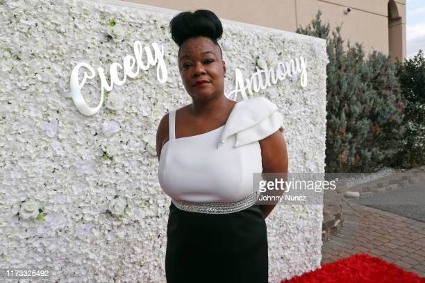 Roxanne Shanté attends the Treach Cicely Evans Wedding at Waterside Reception Hall on September 08 2019 in North Bergen New Jersey