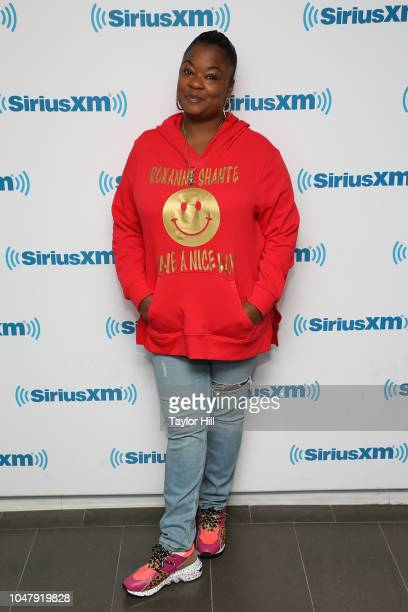 Roxanne Shante visits the SiriusXM Studios on October 8, 2018 in New York City.