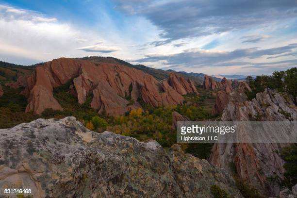 roxborough state park - littleton, colorado - state park stock pictures, royalty-free photos & images