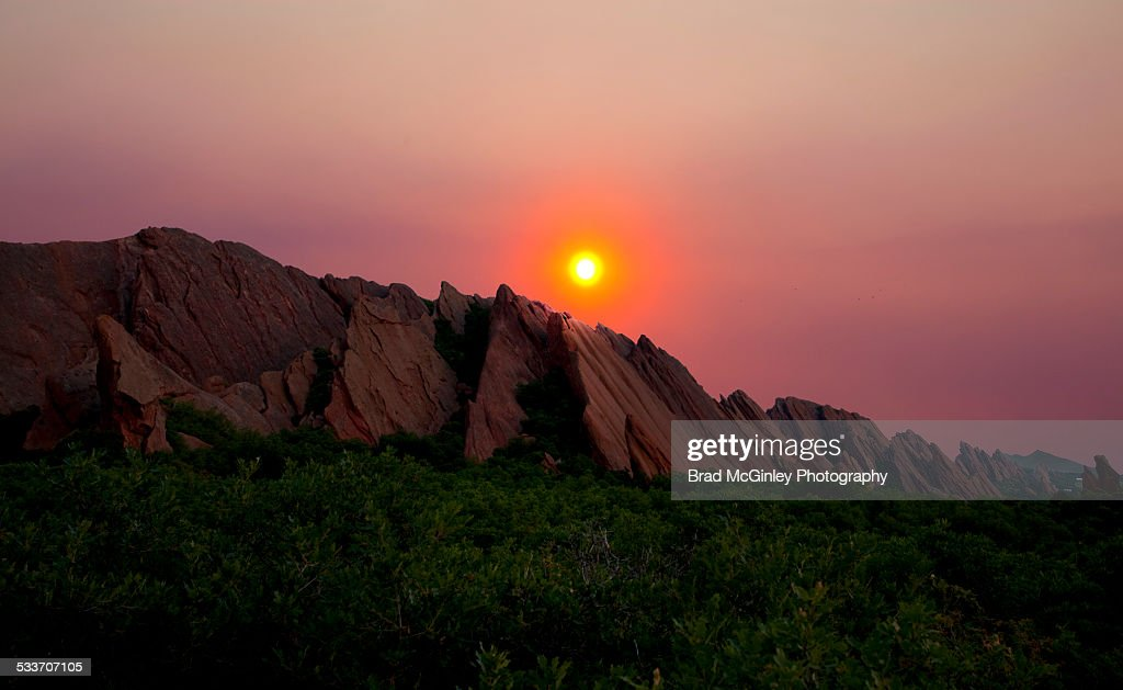 Roxborough State Park : Foto stock