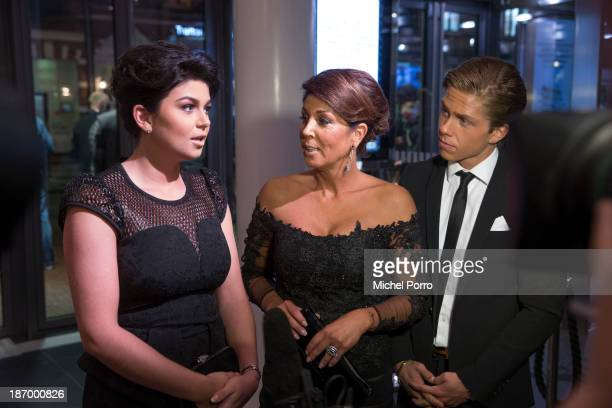 Roxeanne Hazes Rachel Hazes And Dre Hazes Attend Andre Hazes Benefit Performance On November