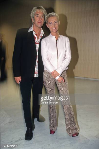 Roxette attend the 'World Music Awards' in May, 2000 in Munich, Germany.