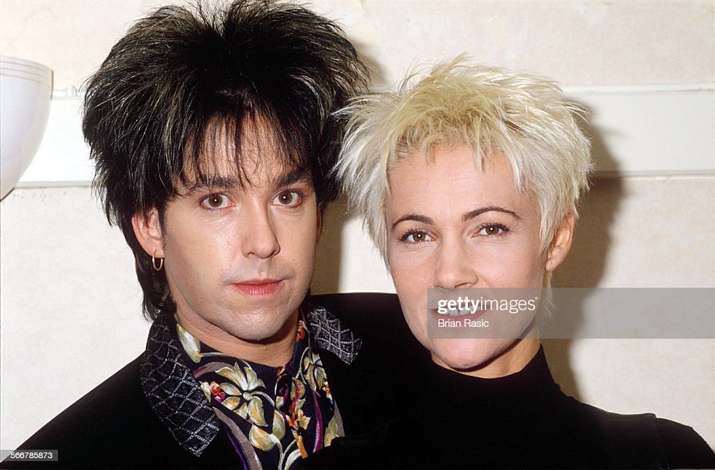 Roxette Performing At The Wembley Arena, London, Britain - 1991 : News Photo