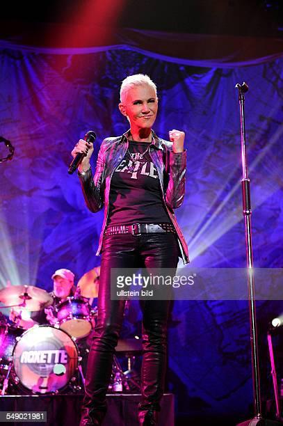 Roxette Sängerin Marie Fredriksson bei einem Konzert in Hamburg o2 World Arena