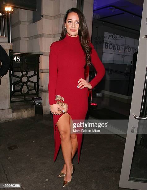 Roxie Nafousi attending the Aston Martin 50 Years of Bond party on December 4 2014 in London England