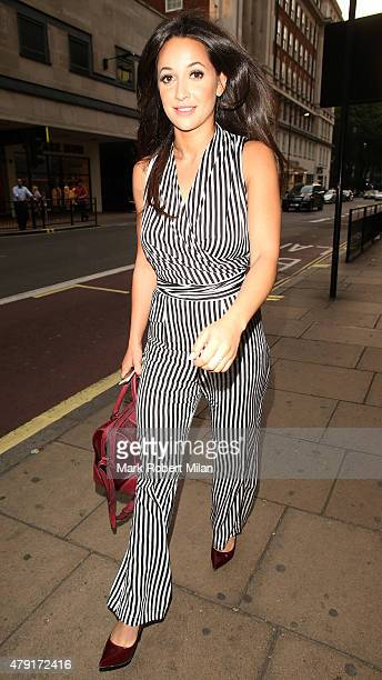Roxie Nafousi attending the Tiffany Co Exhibition 'Fifth And 57th' Opening Night on July 1 2015 in London England