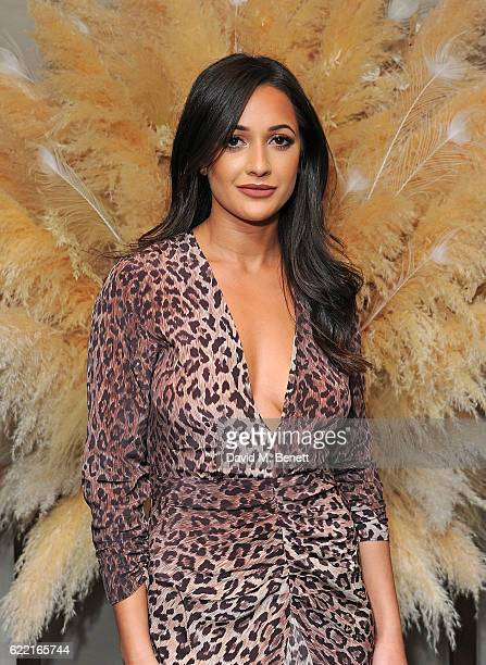 Roxie Nafousi attends 5 Years of Gazelli SkinCare on November 10 2016 in London England