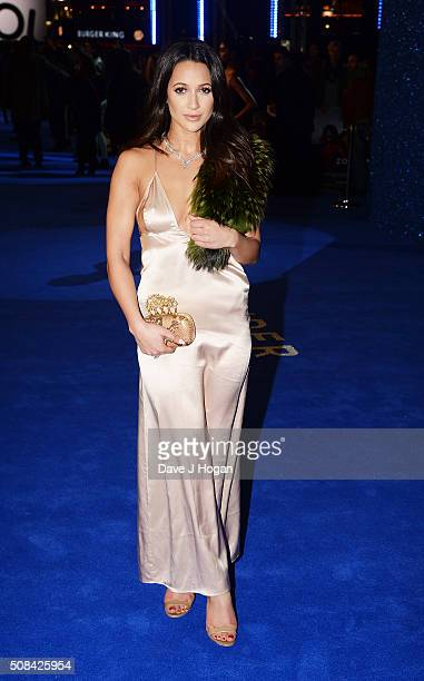 Roxie Nafousi attends a Fashionable Screening of the Paramount Pictures film 'Zoolander No 2' at Empire Leicester Square on February 4 2016 in London...