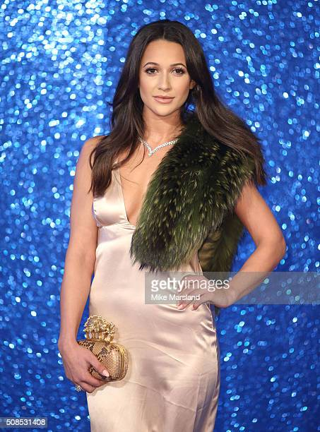 Roxie Nafousi attends a London Fan Screening of the Paramount Pictures film 'Zoolander No 2' at Empire Leicester Square on February 4 2016 in London...
