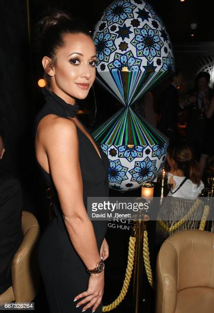 Roxie Nafousi attends Easter with Faberge at Quaglino's on April 11 2017 in London England