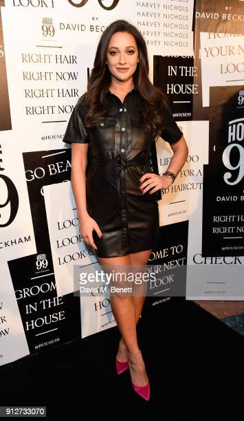 Roxie Nafousi attends House 99 brand launch at Harvey Nichols on January 31 2018 in London England