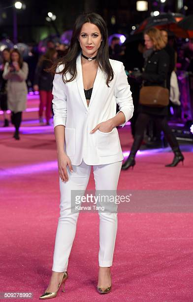 Roxie Nafousi attends the European Premiere of 'How To Be Single' at the Vue West End on February 9 2016 in London United Kingdom