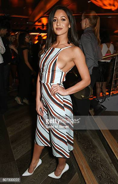 Roxie Nafousi attends the launch of 100 Wardour St on January 28 2016 in London England