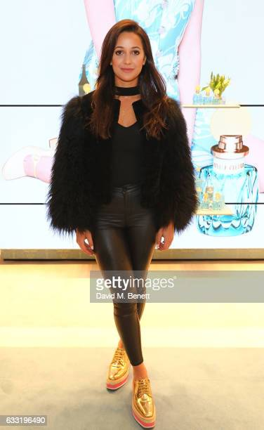 Roxie Nafousi attends the MIU MIU Fragrance Launch on January 31 2017 in London England