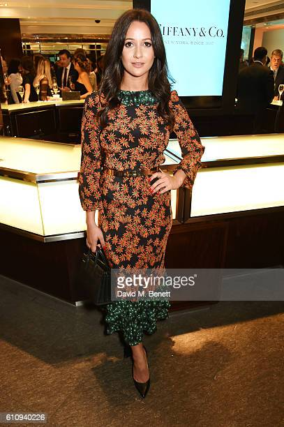 Roxie Nafousi attends the Tiffany Co and GQ Style celebration of the Autumn/Winter issue of GQ Style and the iconic Tiffany CT60 watches collection...
