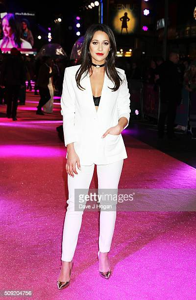 Roxie Nafousi attends the UK Premiere of 'How To Be Single' at Vue West End on February 9 2016 in London England