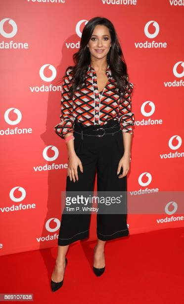 Roxie Nafousi attends the Vodafone Passes Launch held at The Bankside Vaults on November 1 2017 in London England