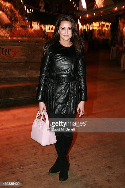 Roxie Nafousi attends the Winter Wonderland VIP opening at Hyde Park on November 20 2014 in London England