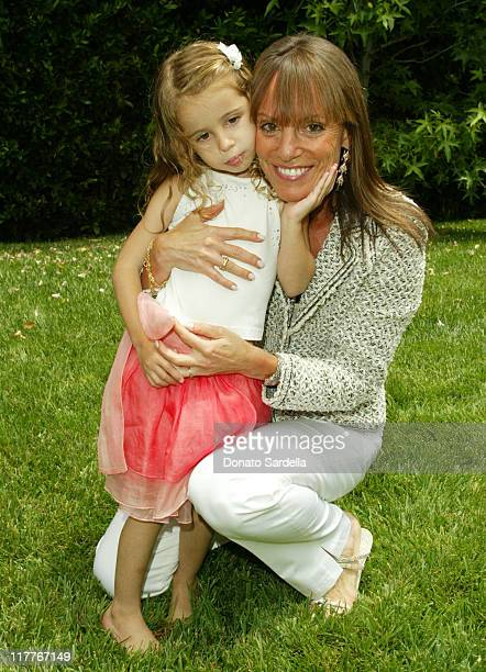 Roxy and Julia Sorkin during Escada Kidswear Launch Party and Birthday at the Home of Patty Penske at Patty Penske Home in Los Angeles, California,...