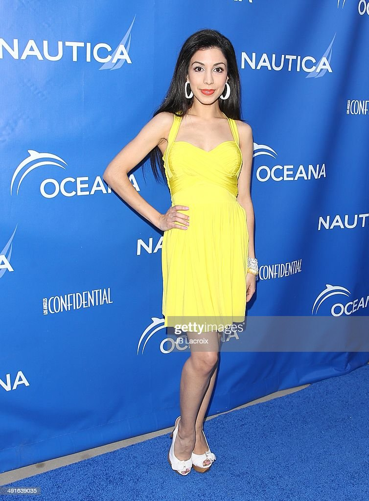 Roxy Darr attends the Nautica and LA Confidential's Oceana Beach House Party on May 16, 2014 in Santa Monica, California.