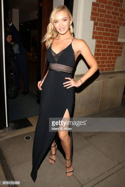 Roxy Horner attending the Bardou Foundation International Women's Day celebration at the Hospital Club on March 8 2018 in London England