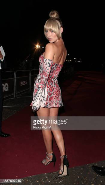 Roxy Horner seen attending the GQ Men Of The Year Awards 2021 at the Tate Modern on September 01, 2021 in London, England.