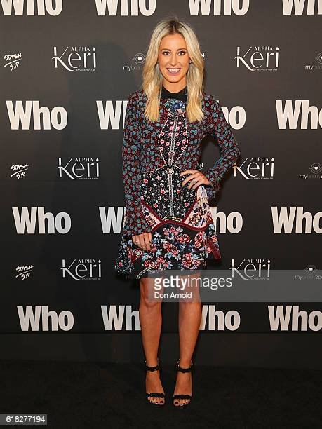 Roxy Jacenko arrives ahead of the WHO Sexiest People Party on October 26 2016 in Sydney Australia