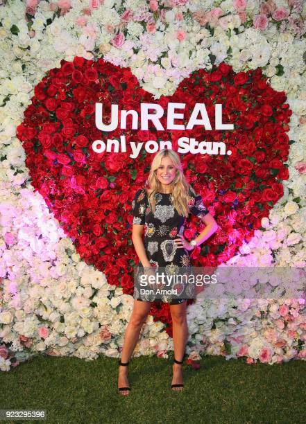 Roxy Jacenko attends the UnREAL Australian Premiere Party on February 23 2018 in Sydney Australia