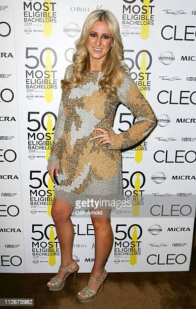 Roxy Jacenko poses during the Cleo Bachelor of the Year Announcement at The Ivy on April 20 2011 in Sydney Australia