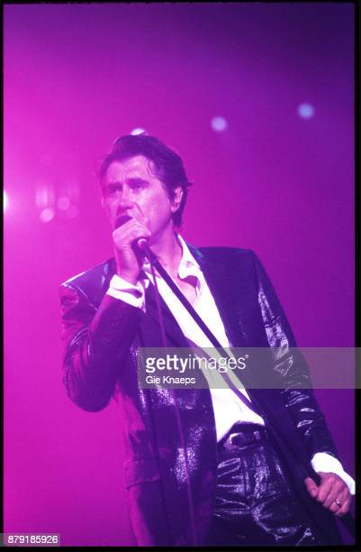Roxy Music Brian Ferry performing on stage Rock Werchter Festival Werchter Belgium July 2001