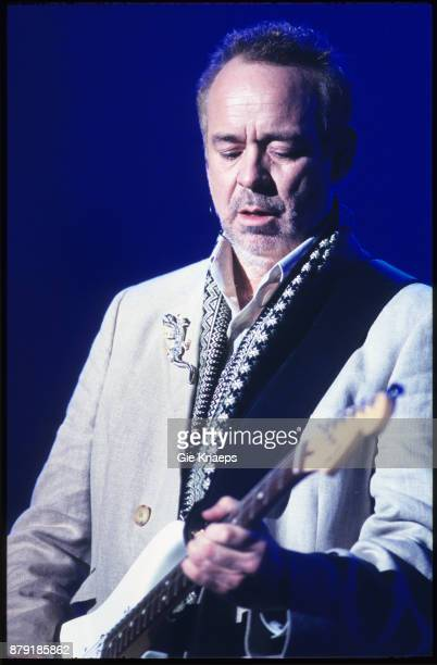 Roxy Music performing on stage Rock Werchter Festival Werchter Belgium July 2001
