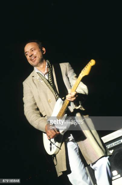 Roxy Music Phil Manzanera performing on stage Rock Werchter Festival Werchter Belgium July 2001